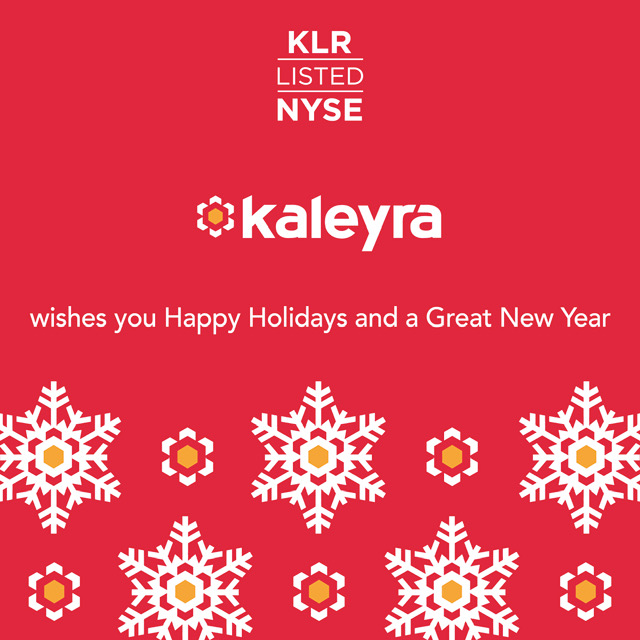 Buone Feste dal team di Kaleyra